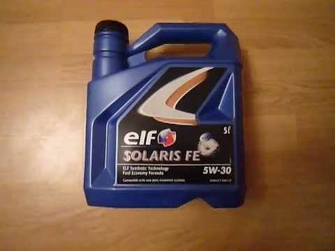 Elf Evolution 900 NF 5W40 How does the original engine oil look .