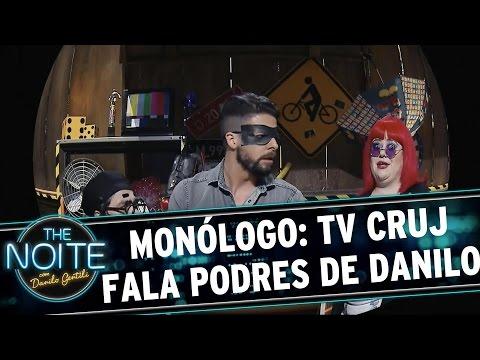The Noite (12/10/15) - Monólogo: TV Cruj Denuncia Os Podres De Danilo Gentili
