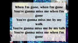 Pitch Perfect-Cups (You're gonna miss me when I'm gone) Lyrics