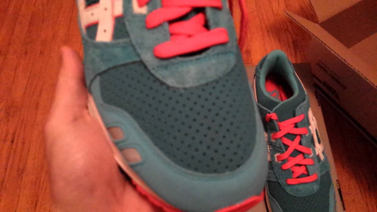 899d91ca9295 Bait x Asics Gel Lyte III Teal Dragon Re-Issue Unboxing - YouTube