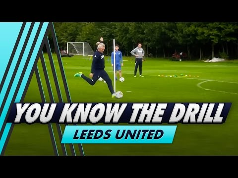 Ultimate Striking Drill | Leeds United - You Know The Drill
