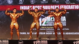 Mr.India 2019 Bodybuilding Competition
