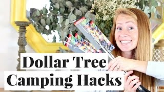 Camping Hacks | Dollar Tree Haul
