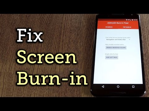 Fix AMOLED Screen Burn-in Issues on the Nexus 6 & More [How-To]