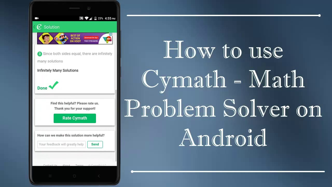 How To Use Cymath Math Problem Solver on Android - YouTube