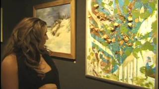 Artist Chrisina Bolinger 3rd Consecutive year at 2010 National Arts Club Roundtable Exhibit