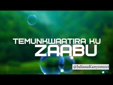 Juliana Kanyomozi - Zaabu (Lyric Video)