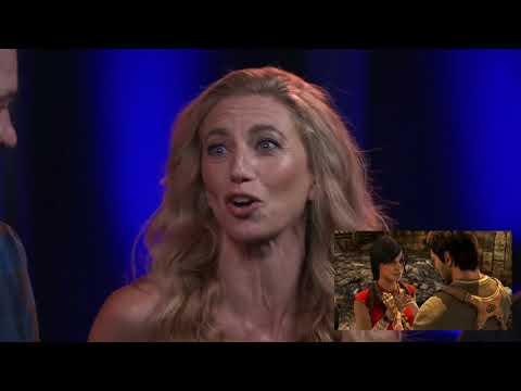 Claudia Black Laura Bailey & UnchartedTLL crew 2017 launch event #ClaudiaBlack