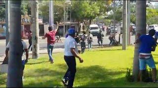 Nicaragua: policía ataca a civiles y periodistas ante protesta