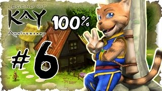 Legend of Kay Anniversary Walkthrough Part 6 (PS4, PS3, WiiU, PS2) 100% Dragon