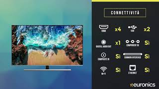 Samsung | Smart TV UHD 4K Flat | Serie 8 | 75NU8000