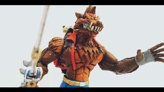Figure Lobuno Wolf Skin Fortnite Mexicain Bootleg