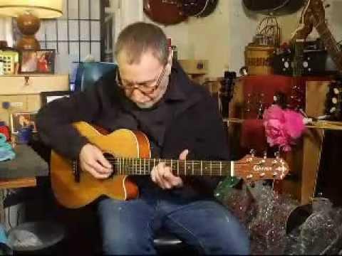 sold for sale my crafter trv 23 travel guitar youtube. Black Bedroom Furniture Sets. Home Design Ideas