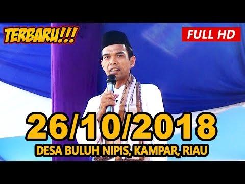 Ceramah Terbaru Ustadz Abdul Somad Lc, MA - Desa Buluh Nipis, Kampar