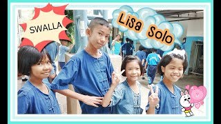 Swalla dance Lisa solo : Blackpink : เต้นเซ็กซี่ เต้นลิซ่า โรงเรียนประสิทธิ์วิทยา