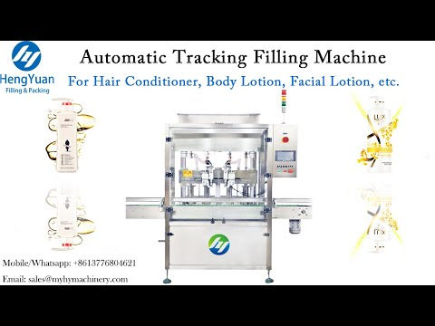 Automatic Bottle Tracking Filling Machine   Hair Conditioner, Body Lotion, Facial Lotion  Dispenser