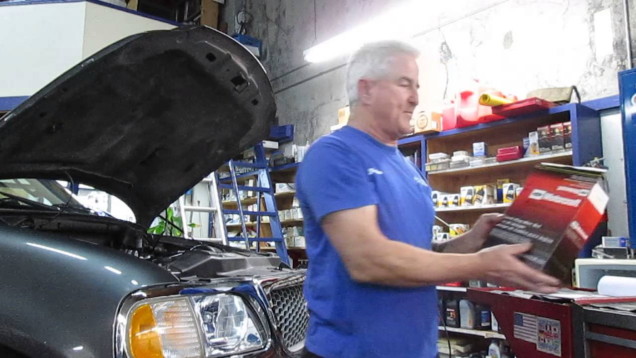 hight resolution of 2002 ford f 150 4 2l runs rough after the transmission was removed youtube