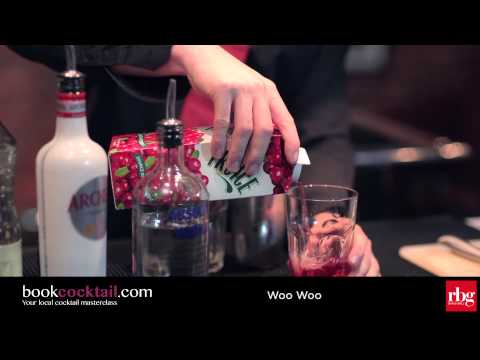 How to make a Woo Woo (bookcocktail.com) - Cocktail Making Class