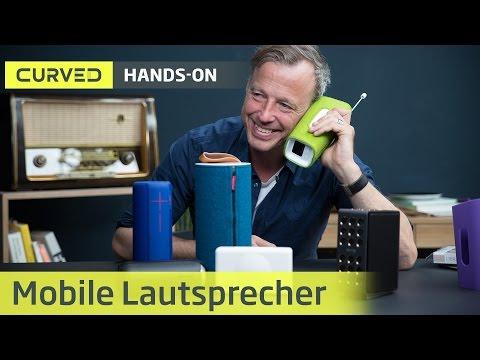 Bluetooth-Lautsprecher im Test / Curved