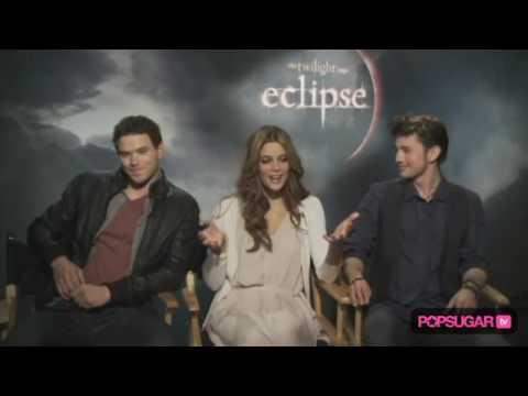 Ashley Greene, Kellan Lutz & Jackson Rathbone Eclipse Interview