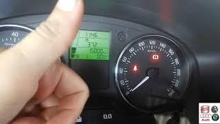 How to Reset Oil Interval Service - Como Reiniciar Service Check - Skoda Fabia [Full Video]