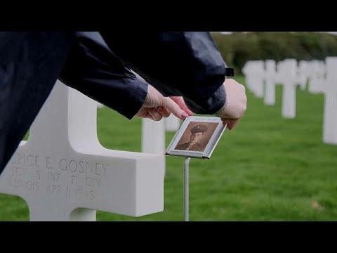 Le foto dei soldati morti per la prima volta nei cimiteri di guerra americani
