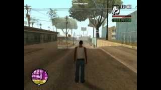 GTA:San Andreas паркур мод