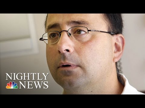 MSU Students Coming Forward Against USA Gymnastic Doctor Dr. Larry Nassar | NBC Nightly News