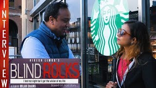 "New Nepali Movie - "" Blind Rocks"" Interview with Shristi K.C 