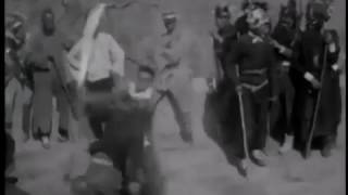 Five Tiger Stick Society 1920s Chinese Martial Arts Demonstration