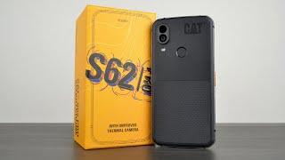 CAT S62 Pro - крутой защищённый смартфон с тепловизором 2020 года!