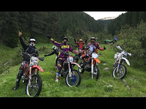 KTM vs Honda vs Kawasaki vs Yamaha vs ATV KFX700 Enduro Bulgaria