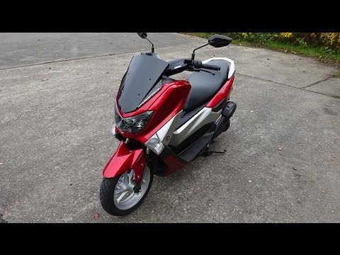 yamaha nmax 125 top speed youtube. Black Bedroom Furniture Sets. Home Design Ideas