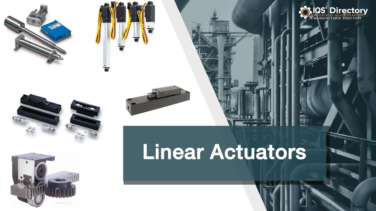 Linear Actuator Manufacturers | Linear Actuator Suppliers