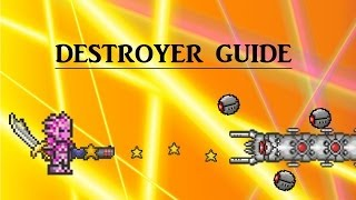 Terraria 1.2.3 How to beat the Destroyer (melee, ranged & magic)