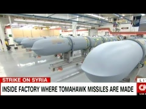 The REAL Reason Trump Bombed Syria? The NEW Tomahawk Missiles Are Ready For Delivery! DUH!