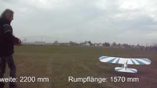 METOCRAFT 2  mit 2200 mm Spannweite - Erstflug