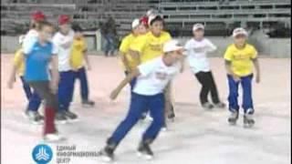 Татьяна Навка пробует олимпийский лед в Сочи