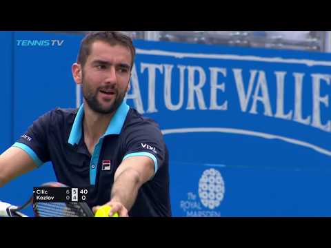 Cilic powers into last eight, Querrey and Lopez also through | Queen's 2017 Highlights Day 4