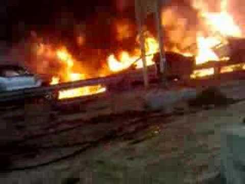 Hundreds hurt in UAE horror crash