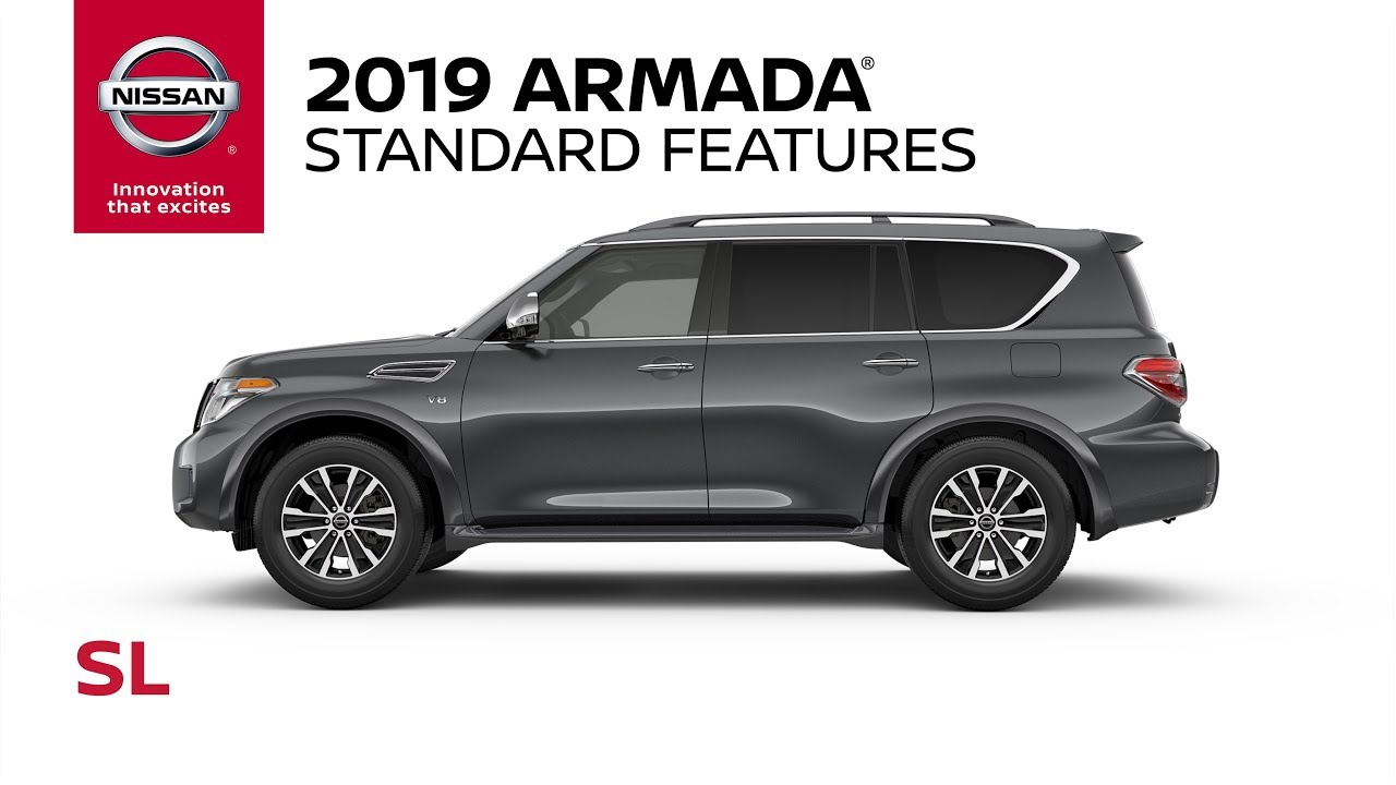 2019 Nissan Armada Sl Model Review Youtube