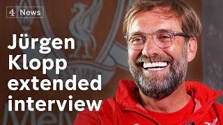 Jürgen klopp interview on his 'best ever' liverpool team and why he'll never be a politician