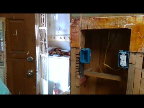 Electrical Kitchen Rewiring Part 1 - YouTube