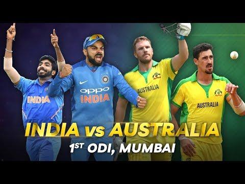 Cricbuzz LIVE: India V Australia, 1st ODI, Pre-match Show