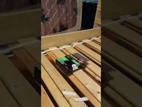 Solving for Ikea bed slats that fall off the rails