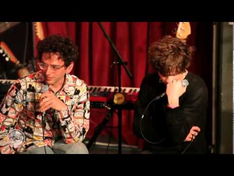 MGMT Interview @ KCRW (04/15/2014)
