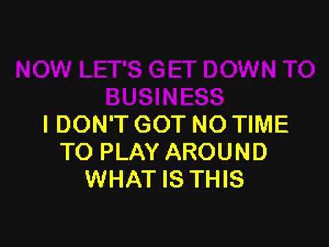 Eminem Business - Karaoke