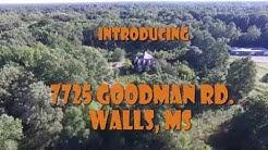 7725 GOODMAN RD. WALL, MS