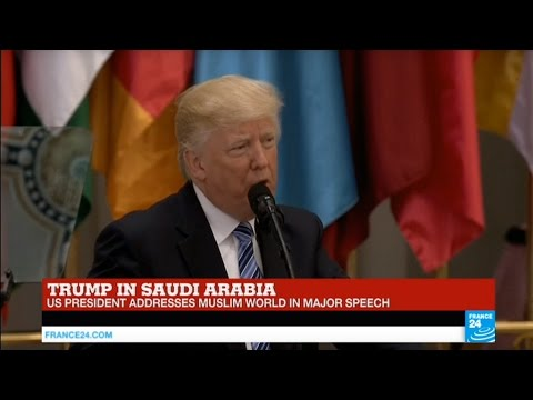 REPLAY - Watch US President Trump's address to the Muslim Wo