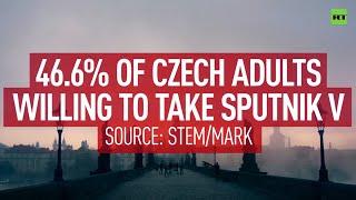 EMA의 승인 없이도 스푸트니크 V를 기꺼이받는 체코 인의 거의 절반